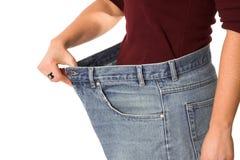 Verliezend gewicht Stock Foto