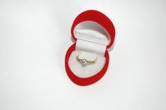 Verlobungsring Lizenzfreies Stockbild