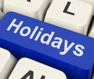 Verlof of Onderbreking van vakantie de het Zeer belangrijke Middelen Stock Foto