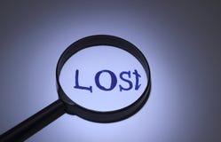 verloren Stock Foto's