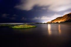 Verloren auf einer Insel Stockbild