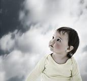 Verloren baby royalty-vrije stock foto
