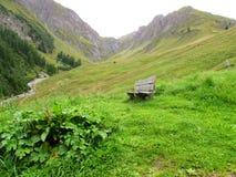 Verloren in de bergen Stock Foto
