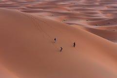Verloren in den Sanden Stockbild
