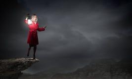 Verloren in der Dunkelheit Lizenzfreie Stockfotografie