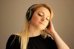 Verloren in der Musik Stockfoto