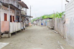 Verloren dorp Stock Afbeeldingen