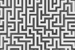 Verloren in een labyrint Royalty-vrije Stock Foto