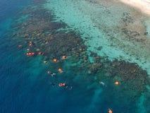 Verloren in het Overzees & x28; Pulau Macan& x29; royalty-vrije stock fotografie