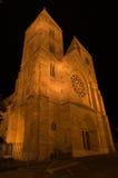Verloren kerk in Boedapest Stock Foto