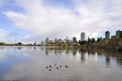 Verloren Lagune in Vancouver Royalty-vrije Stock Foto