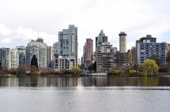Verloren Lagune in Vancouver Stock Foto's