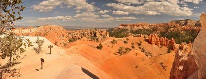 Verloren mitten in Bryce Canyon Lizenzfreie Stockbilder
