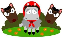 Verloren schapen Royalty-vrije Stock Foto's