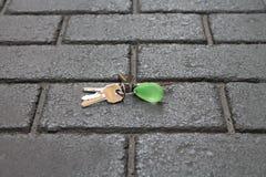 Verloren sleutels Stock Afbeeldingen