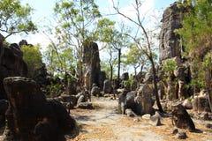 Verloren stad, het nationale park van Litchfield, noordelijk grondgebied, Australië Royalty-vrije Stock Foto's