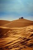 Verloren in Woestijn Stock Fotografie