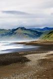 Verlorene Küstenlandschaft zeigt vorzüglich die Ozeane, den Strand, die Hügel und die Berge von Kalifornien lizenzfreie stockfotos