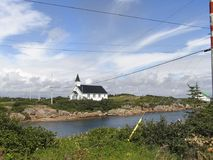 Verlorene Kirche Stockfoto