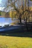 Verlorene Lagune Stockbild