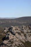 Verlorene Stadt-blaue Berge Australien Lizenzfreie Stockbilder