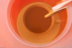 Verlorener Kaffee Lizenzfreies Stockfoto