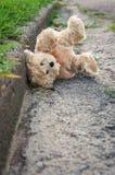 Verlorener Teddybär Stockfotos