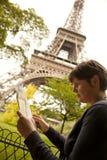 Verlorener Tourist Stockbilder