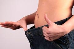 Verlorenes Gewicht Lizenzfreies Stockbild