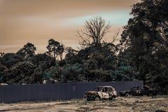 Verlorenes Land Stockbild