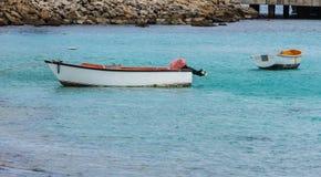 Verlorenes Schlauchboot lizenzfreie stockfotografie