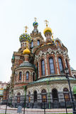 Verlosser op Gemorst Bloed Heilige Petersburg, Rusland stock afbeeldingen