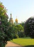 Verlosser op het Gemorste Bloed, St. Petersburg, Rusland Stock Foto