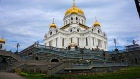 Verlosserkathedraal in Moskou stock afbeelding