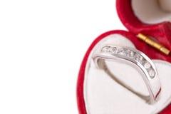 Verlovingsring Royalty-vrije Stock Fotografie