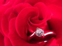 Verlovingsring Royalty-vrije Stock Afbeeldingen