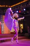 Verlust Trinidad And Tobago, die nationales Kostüm tragen Lizenzfreie Stockfotografie