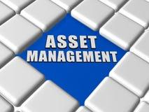 Vermögensverwaltung in den Kästen Lizenzfreie Stockbilder