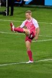 vermaak 2012 för rugby för kick för africa tjurjano södra fotografering för bildbyråer