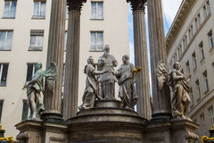 Vermahlungsbrunnen (Marriage or Wedding Fountain Royalty Free Stock Images