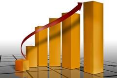 Vermarkten finanziell Lizenzfreie Stockbilder