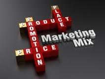 Vermarktende Mischung | 4Ps Lizenzfreies Stockfoto