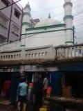 Vermarktendes masjid Ruses in Bihar lizenzfreies stockbild