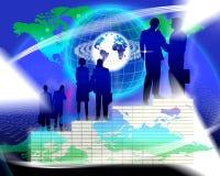 Vermarktungsplan-Erfolg Stockfoto