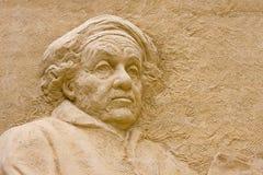 vermeer скульптуры песка johannes Стоковое фото RF