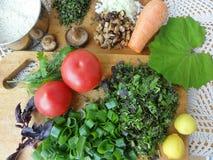 Vermehrt sich das Gemüsekochen explosionsartig Lizenzfreie Stockfotos