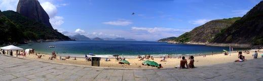 Vermelha strand, Rio de Janeiro, Brasilien Royaltyfria Bilder