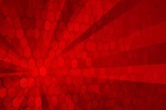 Vermelho abstrato Imagem de Stock