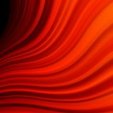 Vermelho alise linhas claras da torção. EPS 10 Imagens de Stock Royalty Free