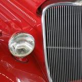 Vermelho americano do carro do músculo imagens de stock royalty free